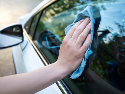 Wiping the Driver Car Window